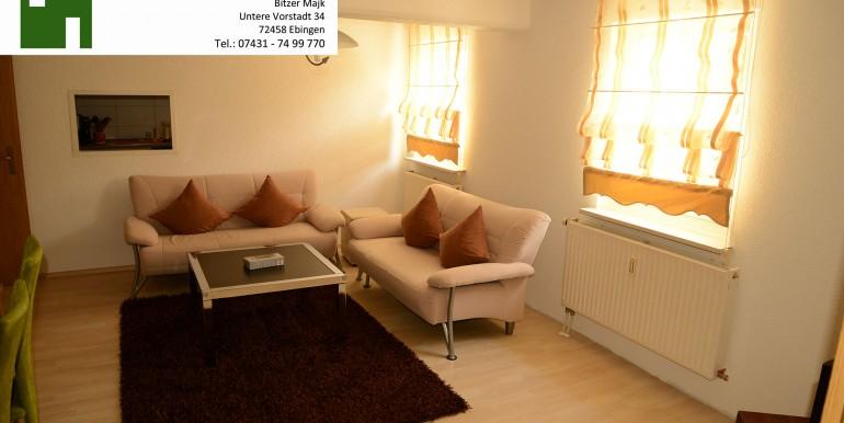 8 Wohnzimmer mit Durchreiche in die Küche wohnraumbitzer.de
