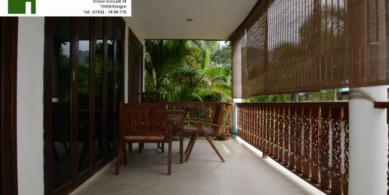 Balkon Erster Stock Villa