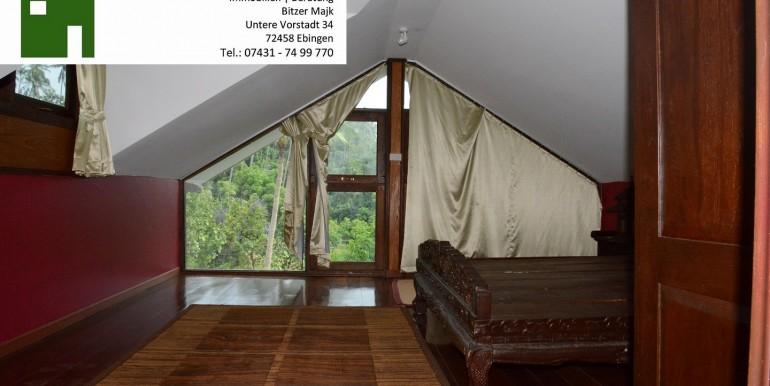 Ersatzschlafzimmer unter dem Dach Villa