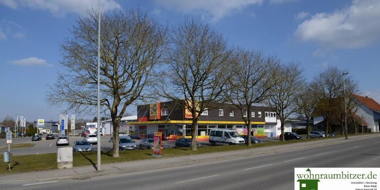 Ansicht Herbertinger Straße von Herbertingen kommend