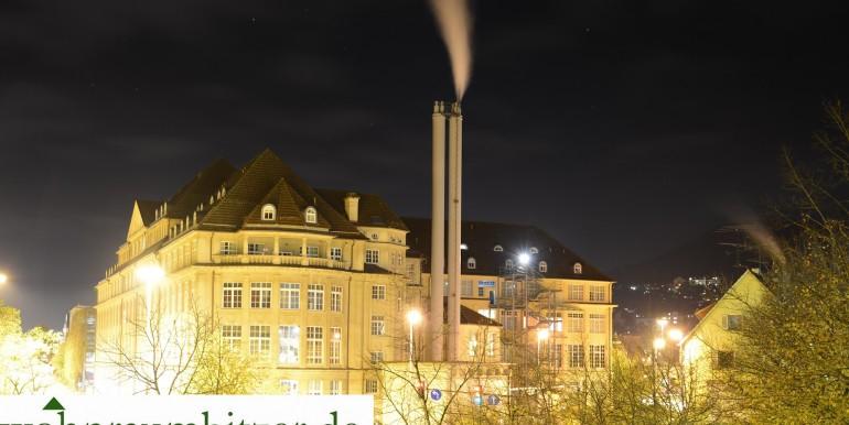 Albstadt Ebingen Poststraße 6 Einzimmerwohnung zu verkaufenBei Nacht