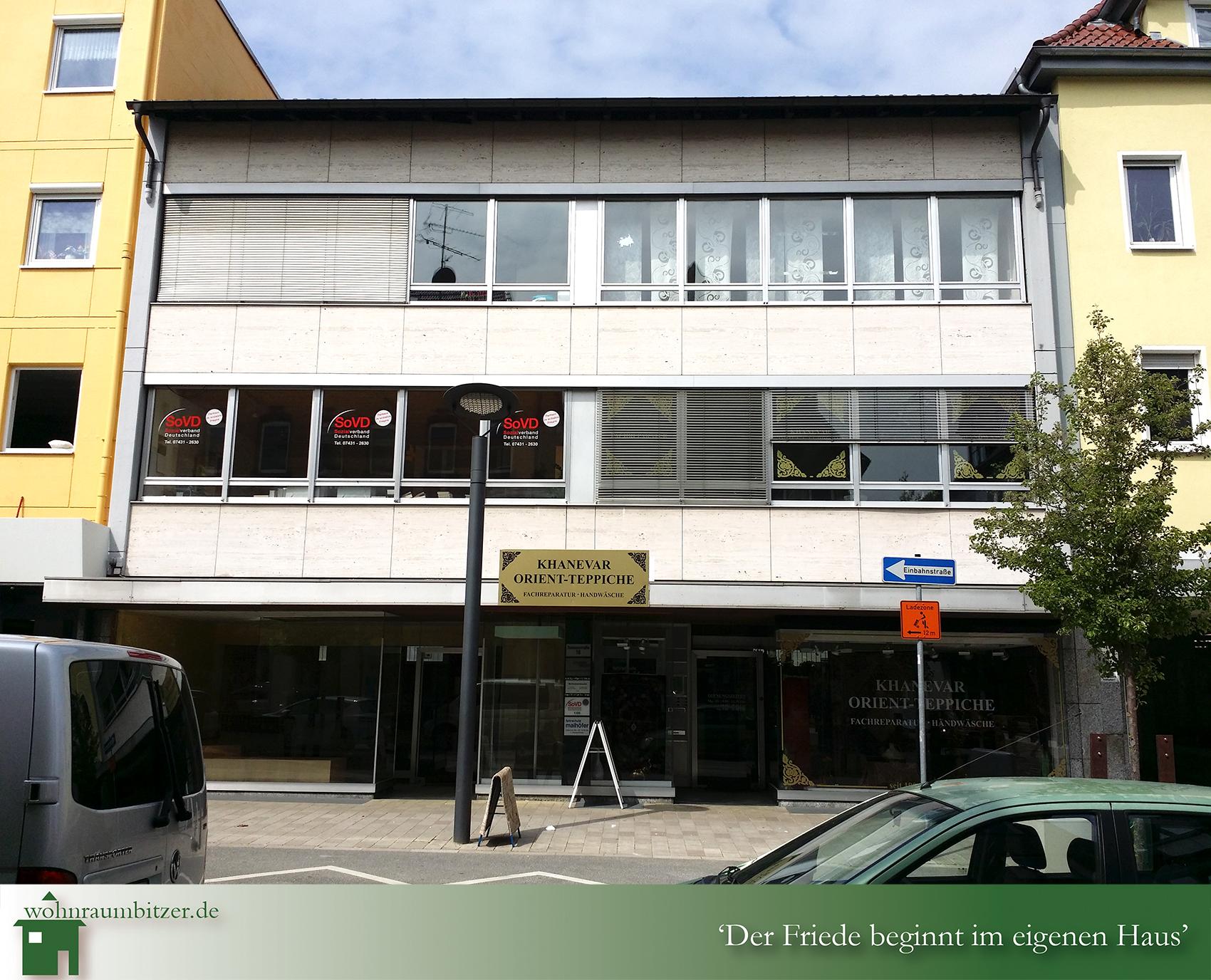 Büro 1 A Lage in Ebingen
