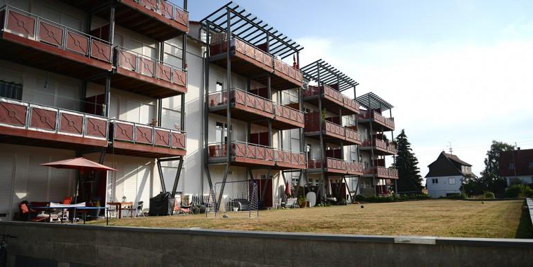 Winterlingen 3 Zi Wohnung mit Balkon Front