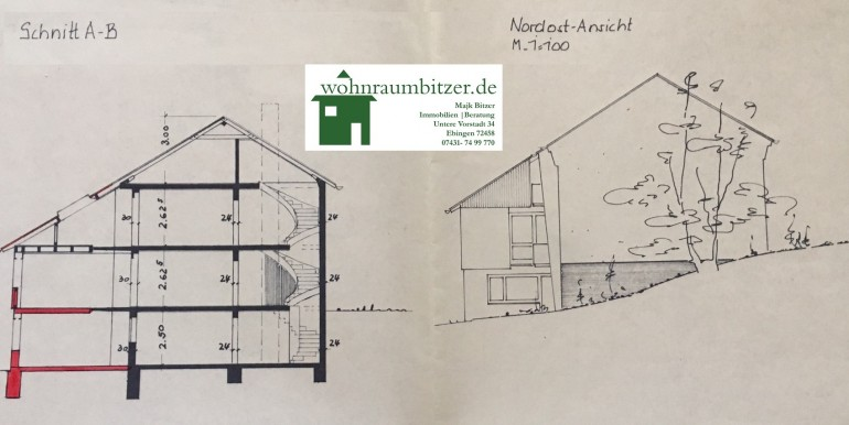 Schnitt Haus Bodelshausen