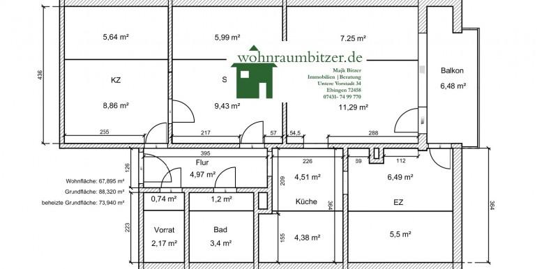 Plan Wohnung Schwieberdingen