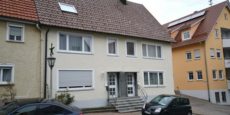 Schäden an der Fassade Schömberg 2