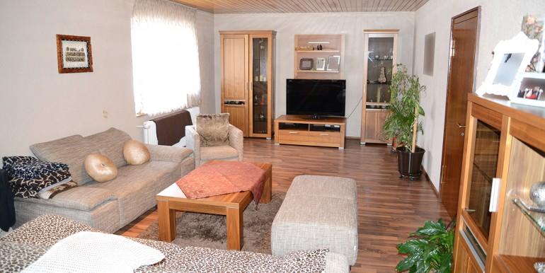 Wohnzimmer 2 Zweifamilienhaus Tailfingen zu verkaufen