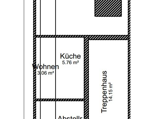 Grundriss 1ter Stock