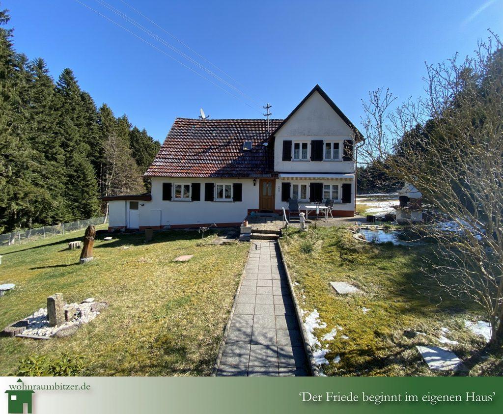 Marschalkenzimmern Einfamilienhaus,Dornhan Bettenhausen Busenweiler Fürnsal Leinstetten Weiden Immobilienmakler Bitzer Majk wohnraumbitzer Immobilien