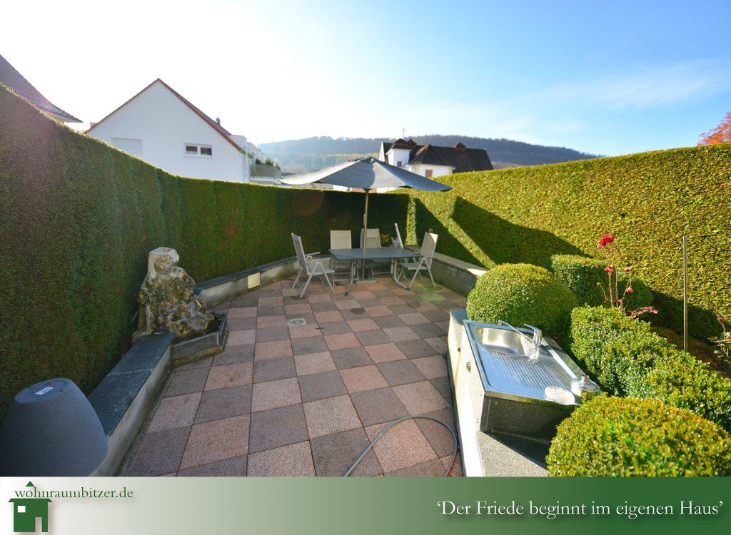 Eingang in den Gartenbereich, wohnraumbitzer.de Ihr Immobilienmakler