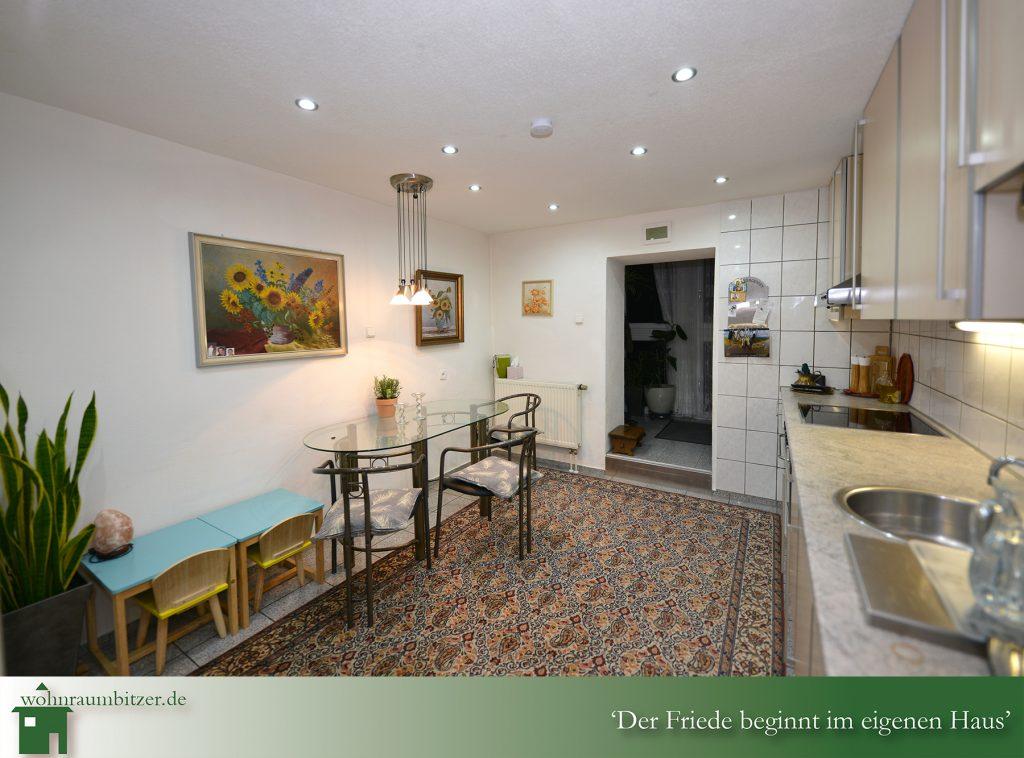 Küche im Untergeschoss, wohnraumbitzer.de Ihr Immobilienmakler