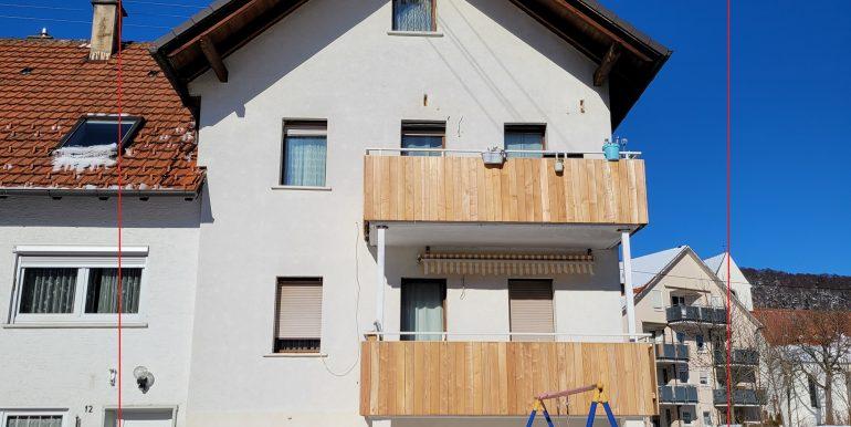 Ansicht Haus außen Süd Burladingen