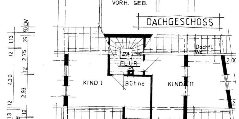 Dachgeschoss Plan Burladingen