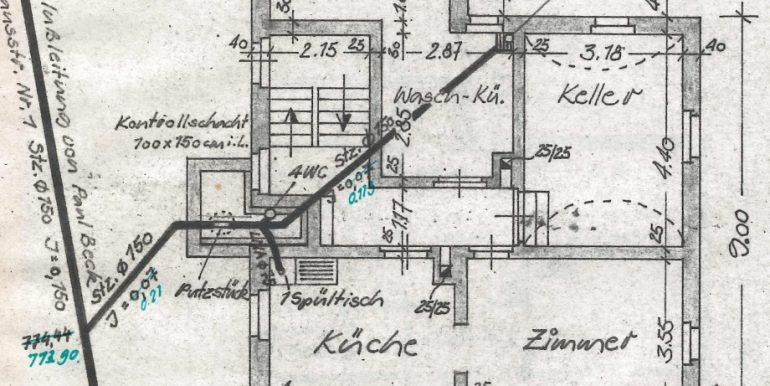 4 Familienhaus Ebingen Plan Kellergeschoss
